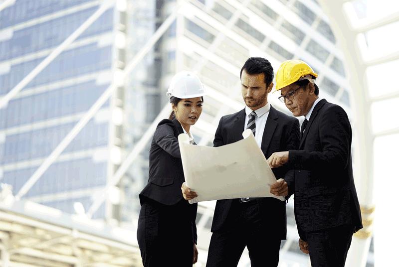 مراجعـة التصاميـم المعمارية وتوصيف المـواد